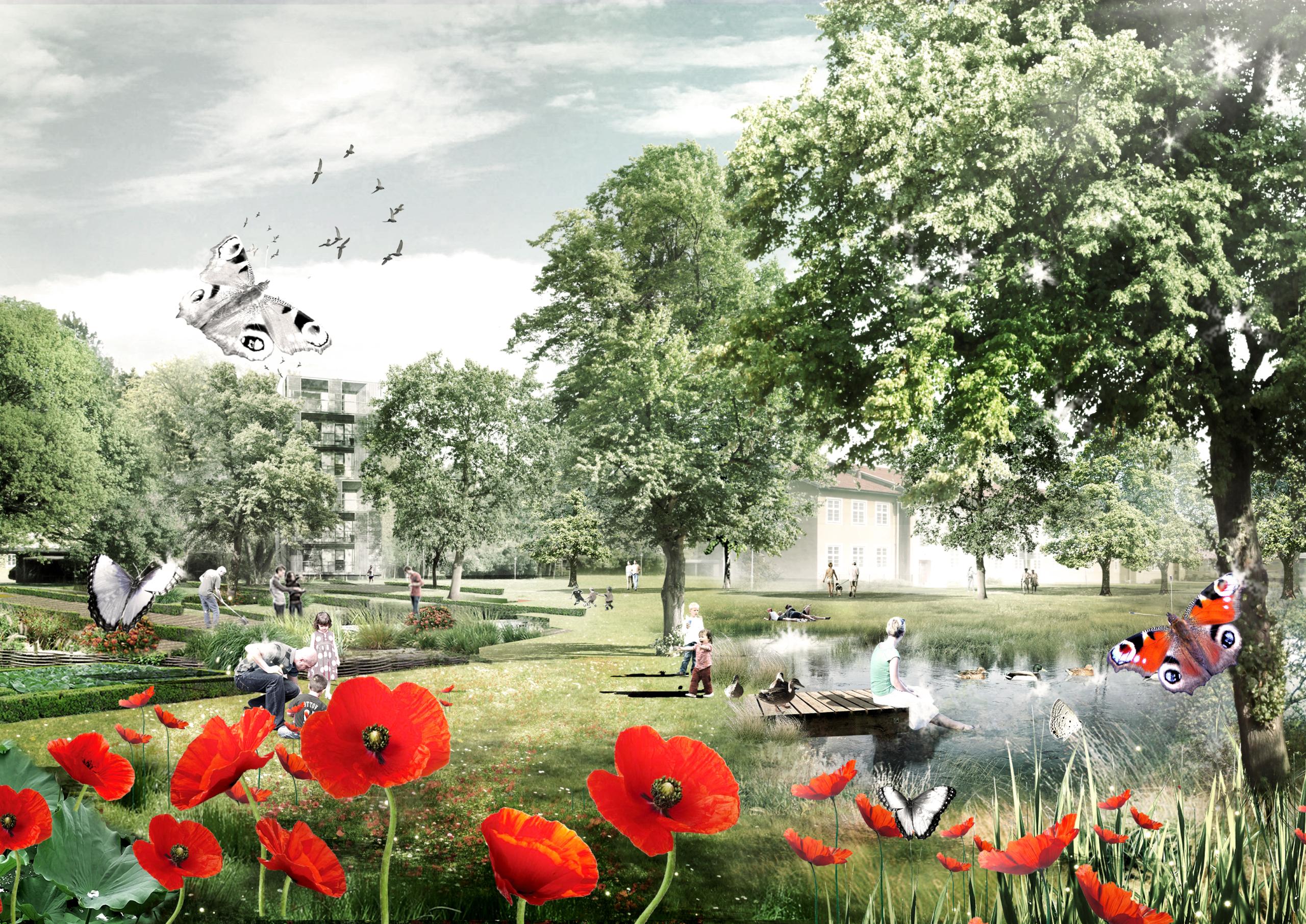 3 juni - Gamla Östra Sjukhusområdet omvandlas till bostadsområde Sege Park